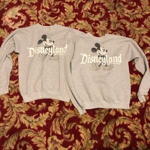 Disneyland Two small sweaters